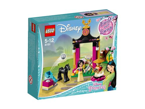 LEGO® Disney Princess™ 41151 L'entraînement de Mulan