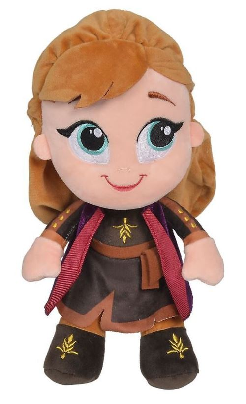 Peluche Disney La Reine de Neige 2 Anna 25 cm