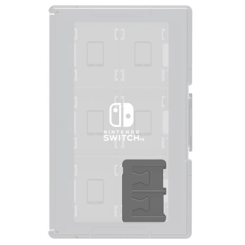 Boîtier de protection Hori Transparent pour 24 Jeux Nintendo Switch