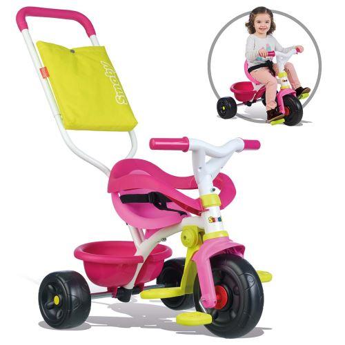Tricycle évolutif Smoby Be fun Confort Rose - Tricycle. Achat et vente de jouets, jeux de société, produits de puériculture. Découvrez les Univers Playmobil, Légo, FisherPrice, Vtech ainsi que les grandes marques de puériculture : Chicco, Bébé Confort, Ma