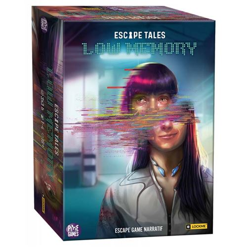 Jeu de société Board en Dice Escape Tales Low Memory