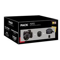 Fnac Pack Sony Alpha A7 II Hybrid Camera + FE Lens 28-70mm + Lens 50mm + Tas + SD-Kaart 16GB