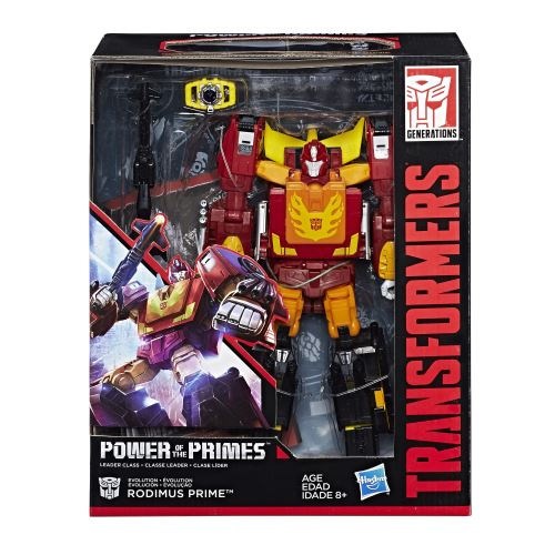 Figurine Transformers Power of the Primes Leader Rodimus Prime