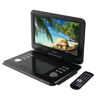 lecteur dvd portable brandt dvdp12r noir cran rotatif 12 lecteur cd dvd achat prix. Black Bedroom Furniture Sets. Home Design Ideas