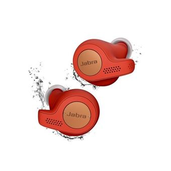 Ecouteurs sans fil Jabra Elite 65t Rouge et cuivre