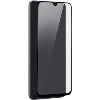 Protection d'écran en verre organique 2.5D Force Glass Noir transparent pour Samsung Galaxy A70