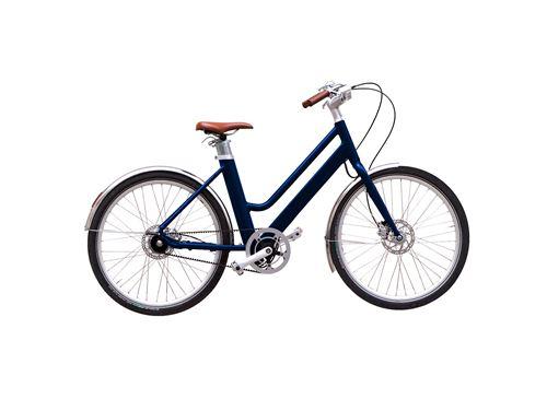 Vélo à assistance électrique Voltaire Bleu Nuit avec Panier Avant