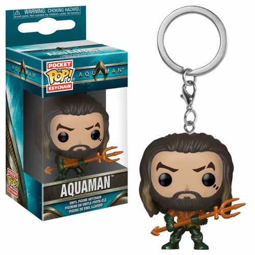 Porte-clés Pocket Pop! DC Univers Aquaman Arthur Curry en super costume