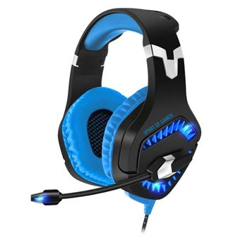 Micro Casque Gaming Spirit Of Gamer Elite H40 Noir Et Bleu Pour Pc