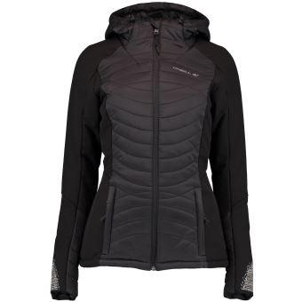 Femme Shield Taille Veste Noire Ski Kinetic De S À O'neill Capuche naw6Zqa1