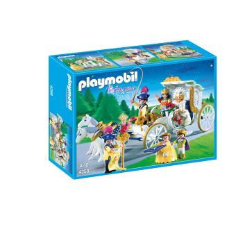 Playmobil Princess 4258 Mariés avec carrosse - Playmobil - Achat ...