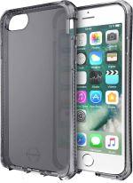 Coque semi-rigide Translucide Noir Itskins Spectrum pour iPhone 6/6s/7/8/SE 2020