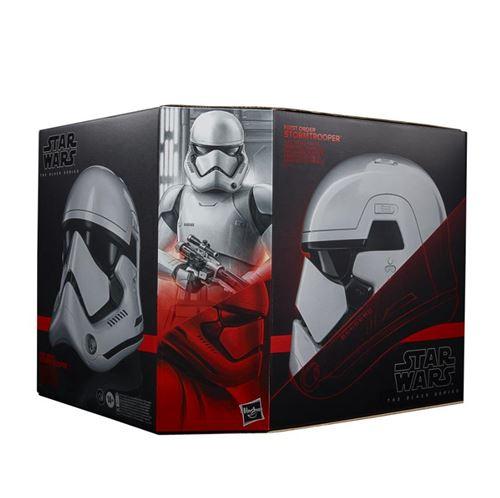 Casque Star Wars Hasbro Black Series First Order Stormtrooper