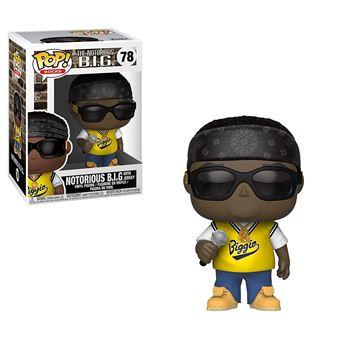 salida Descartar superficie  Figurine Funko Pop! Vinyl The Flash Notorious B.I.G. Jersey ...