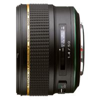 Ricoh HD Pentax-D FA 50mm f/1.4 SDM AW Lens Zwart
