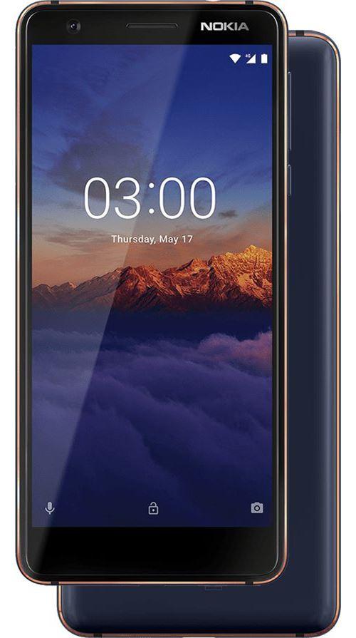 Smartphone Nokia 3.1 Double SIM 16 Go Bleu