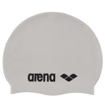 Bonnet de bain Arena Classic Silicone Gris Taille unique