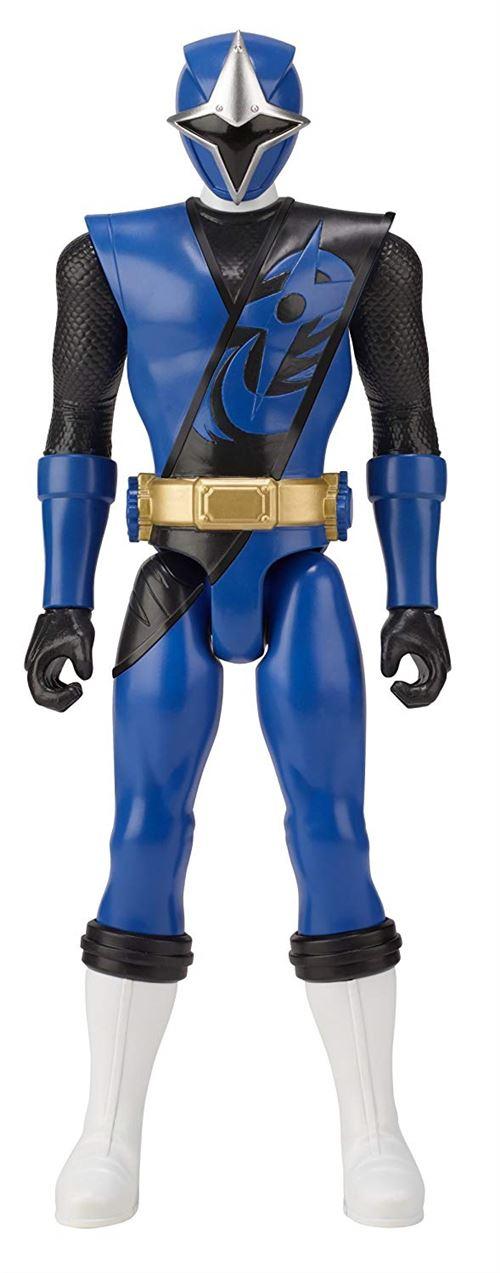 Figurine Power Rangers Steel Bleu 30 cm