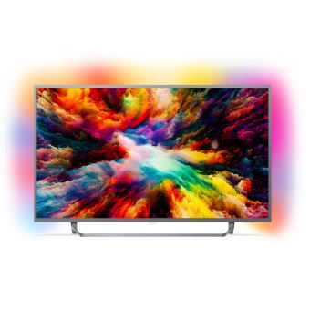 TV Philips 55PUS7303 UHD Ambilight 3 côtés Android TV 55""