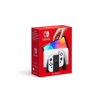 Nintendo Switch OLED - Console de jeux - Full HD - blanc