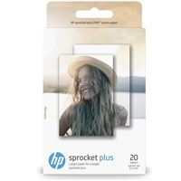 Papier photo HP pour Sprocket Plus 20 feuilles