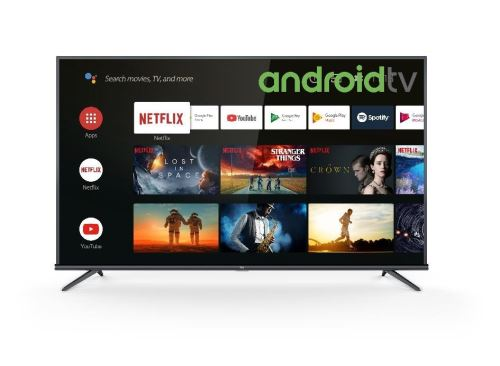 "Plus de détails TV Tcl 55EP660 UHD 4K Ultra Slim Smart Android TV 55"" Noir"