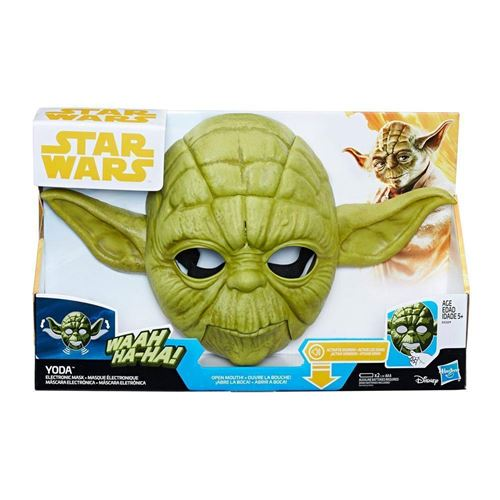 Masque électronique Star Wars Yoda