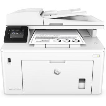 Imprimante HP LaserJet Pro M227fdw Multifonctions WiFi Blanc