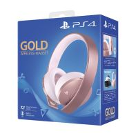 Casque-micro sans fil Gold Edition Rose Gold pour PS4