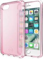 Coque semi-rigide Itskins Spectrum Rose translucide pour iPhone 6, 6s, 7 et 8