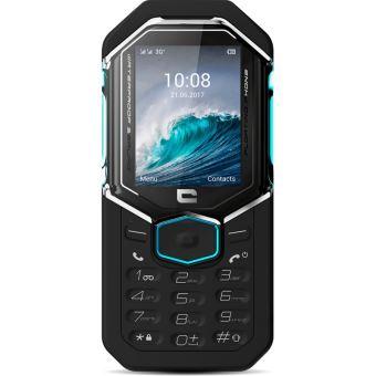 Téléphone mobile Crosscall Shark-X3 Double SIM 128 Mo Noir et bleu