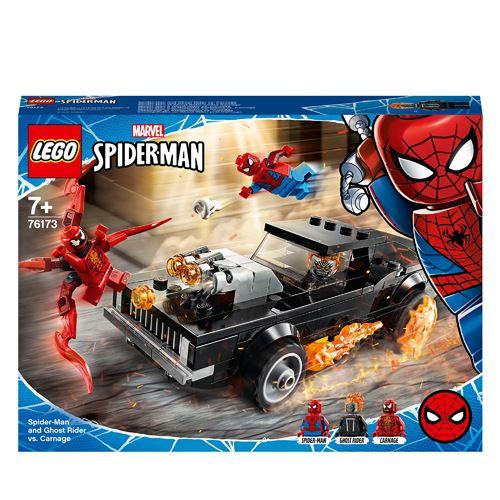 LEGO® Marvel Spider-Man 76173 Spider-Man et Ghost Rider contre Carnage