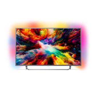 "TV Philips 50PUS7303 UHD Ambilight 3 côtés Android TV 50"""