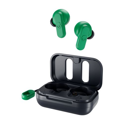 Ecouteurs intra-auriculaire sans fil True Wireless Skullcandy Dime Vert