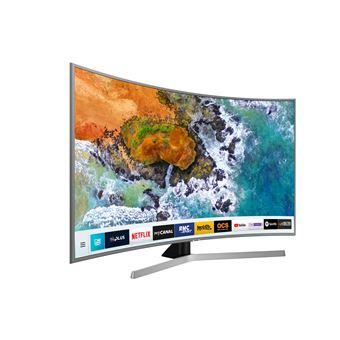 tv samsung ue65nu7645u led uhd 4k smart tv incurv e 65 t l viseur lcd 56 et plus achat. Black Bedroom Furniture Sets. Home Design Ideas
