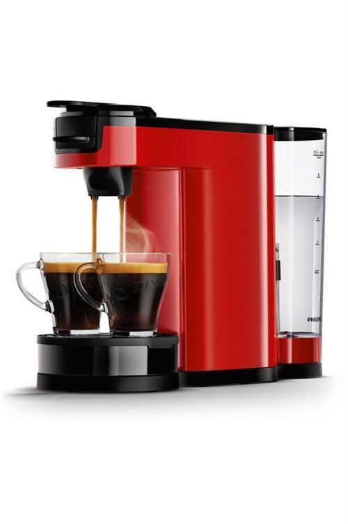 Cafetière à dosette ou capsule Philips HD6592/81 1450 W Rouge