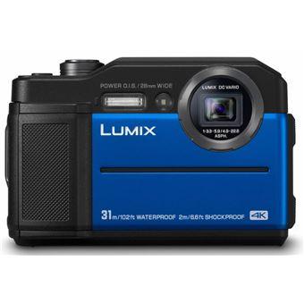 Compact Panasonic Lumix FT7 Bleu
