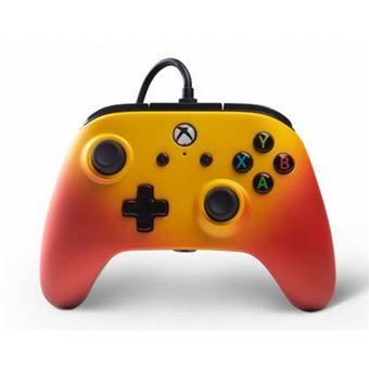 Manette Xbox One PowerA filaire Solar Fade Orange