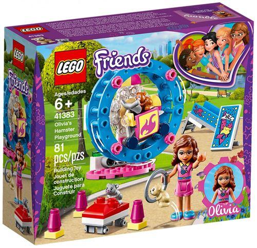 LEGO® Friends 41383 L'aire de jeu du hamster d'Olivia
