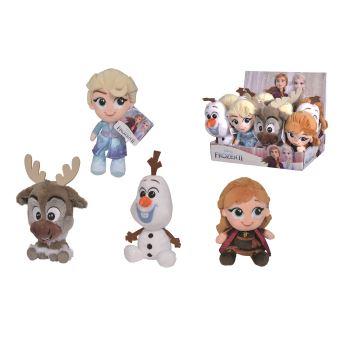 Peluche Disney La Reine des neiges ELSA ANNA 40 cm ou lot de 2 peluches frozen