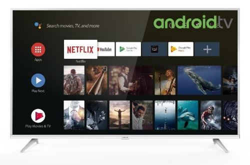 """Plus de détails TV Thomson 50UE6420W 4K UHD Android TV 50"""" Blanc"""