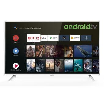 TV Thomson 50UE6420W 4K UHD Android TV 50'' Blanc