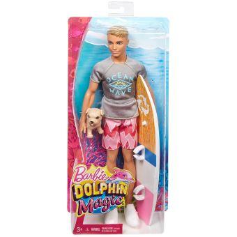 Playset Barbie Ken Surfeur Et Son Chien