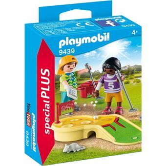 9439-PLAYMOBIL Kinderen met minigolf