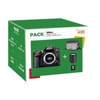 Nikon D7200 Reflex Camera Body + Lens AFS 18-105mm f/3,5-5,6G VR + Tas