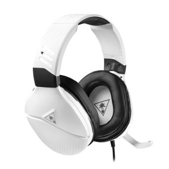 Micro Casque Gaming Turtle Beach Recon 200 Blanc Pour Xbox One Ps4