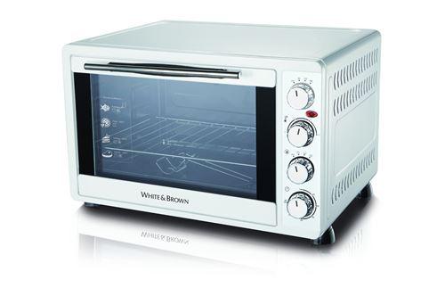 Mini four White And Brown MF 448 2000 W Blanc