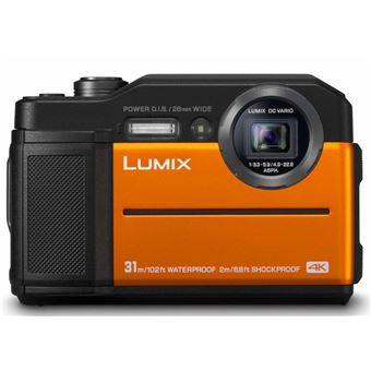 Compact Panasonic Lumix FT7 Orange