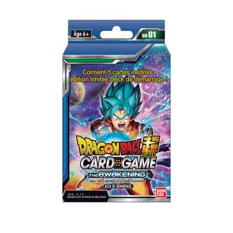Dragon Ball Super Card Games Starter 1 The Awakening