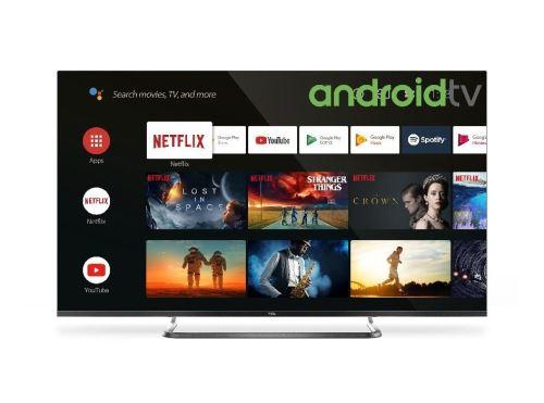 """TV TCL 50EP680 50"""""""""""""""" 4K Ultra HD Ultra Slim HDR et Android Noir - Téléviseur LCD 44"""" à 55""""."""